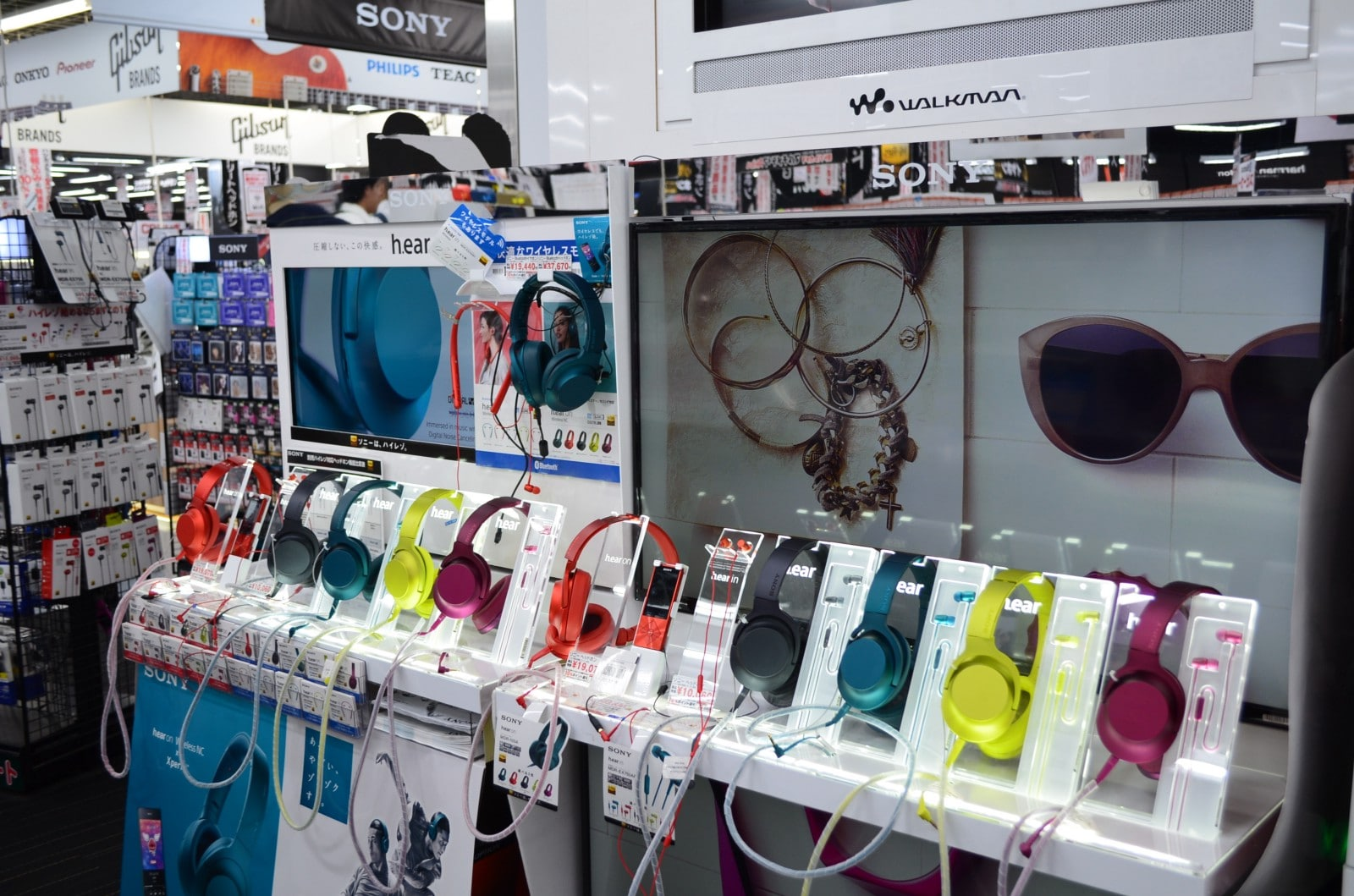 Headphones at Yodobashi-Akiba