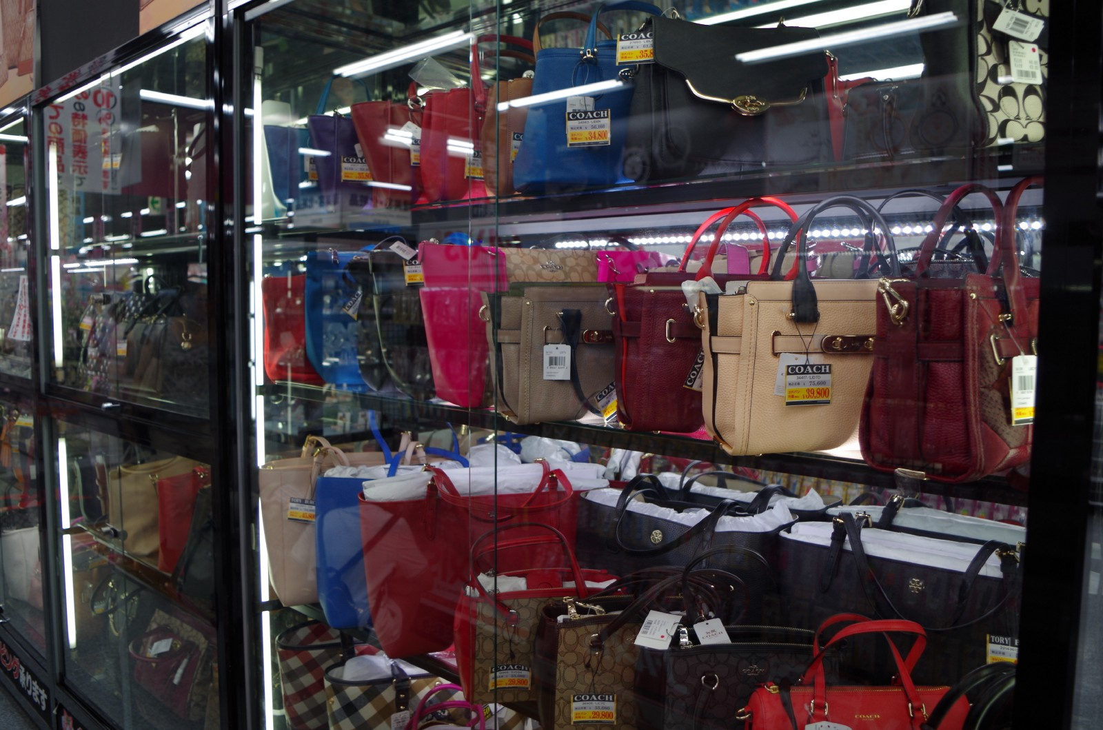 Brand bags at Yodobashi-Akiba