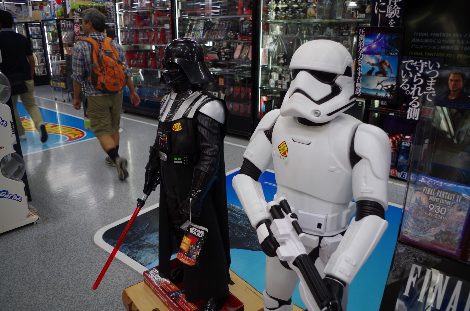 Star Wars Toys at Yodobashi-Akiba