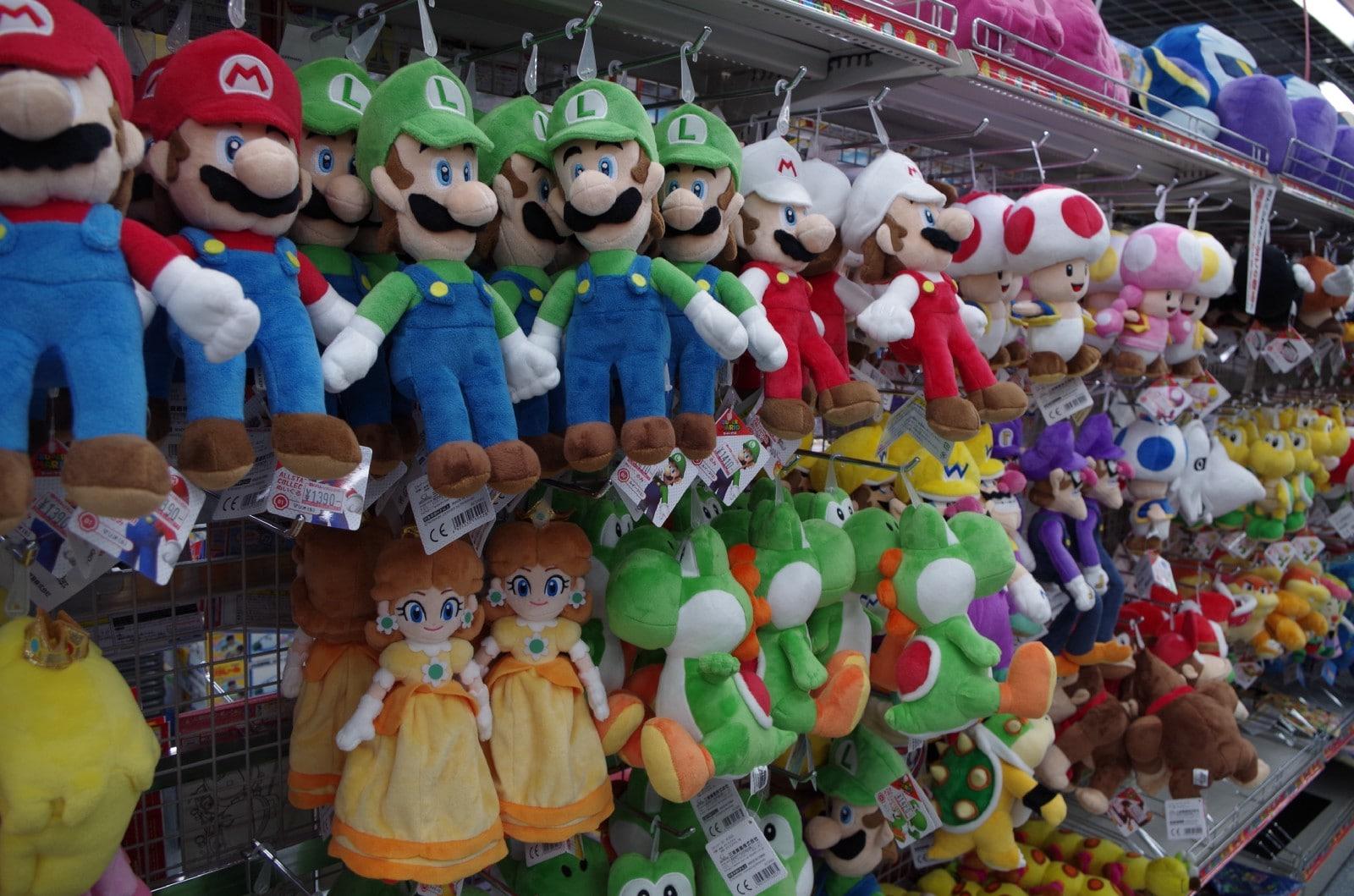 Toys at Yodobashi-Akiba