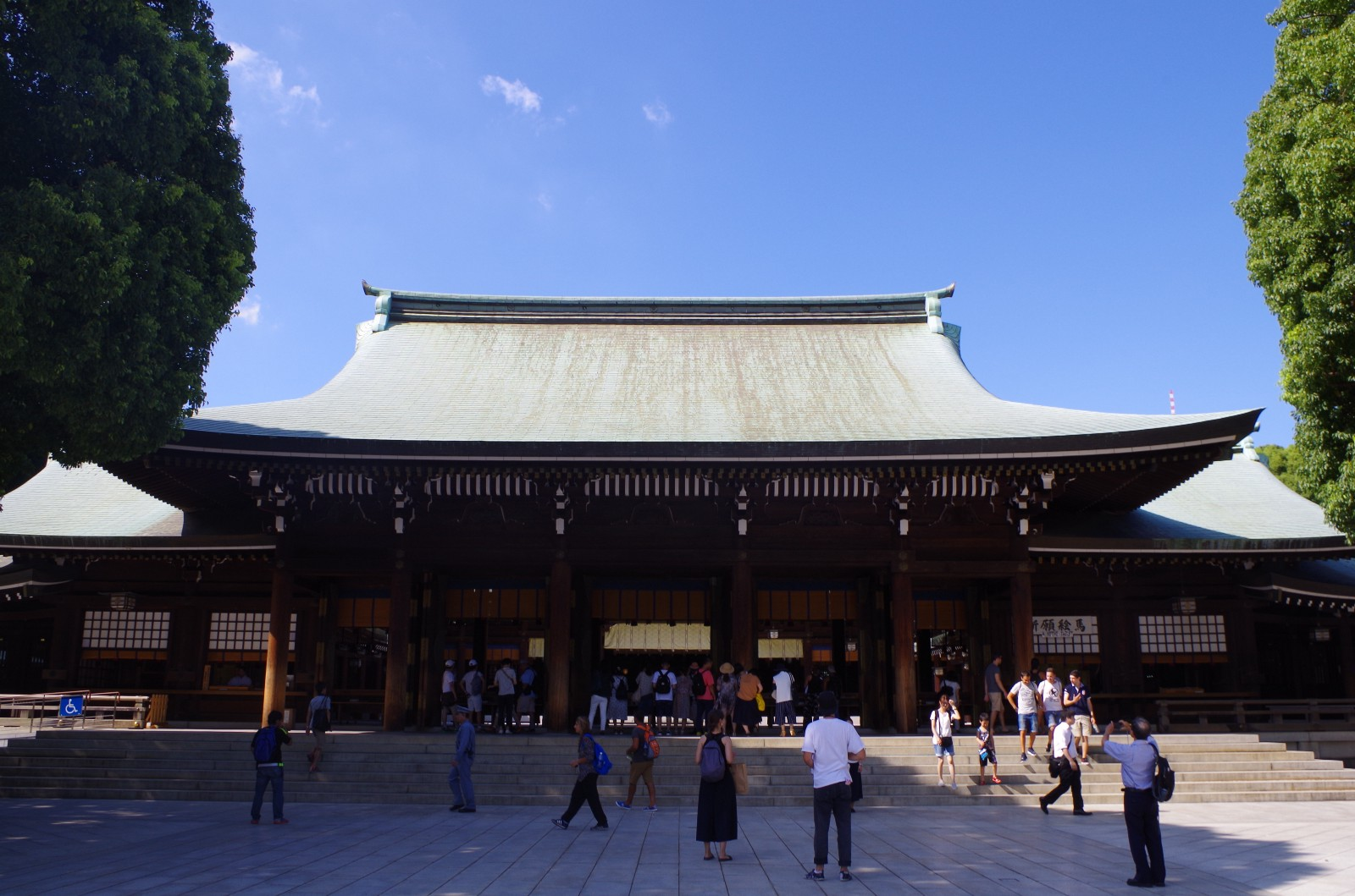 Meiji Shrine Main Hall