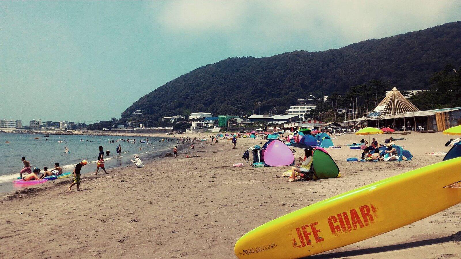 Beach in Japan