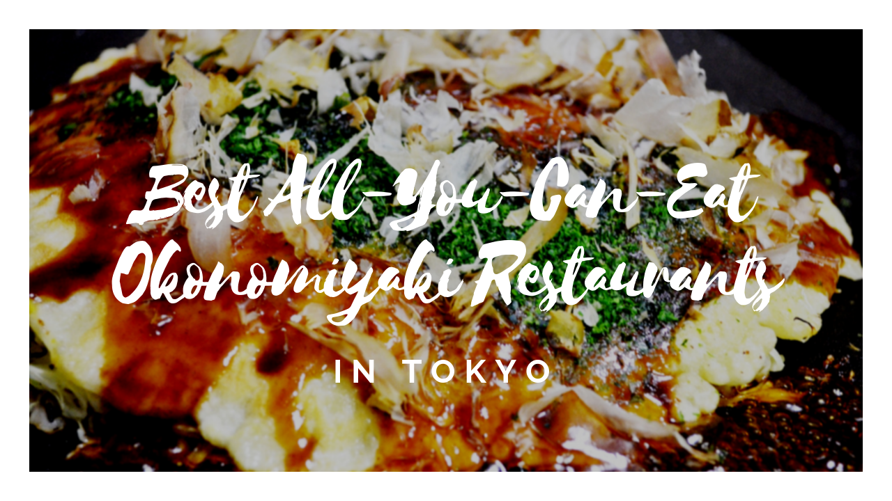 Okonomiyaki All You Can Eat in Tokyo!