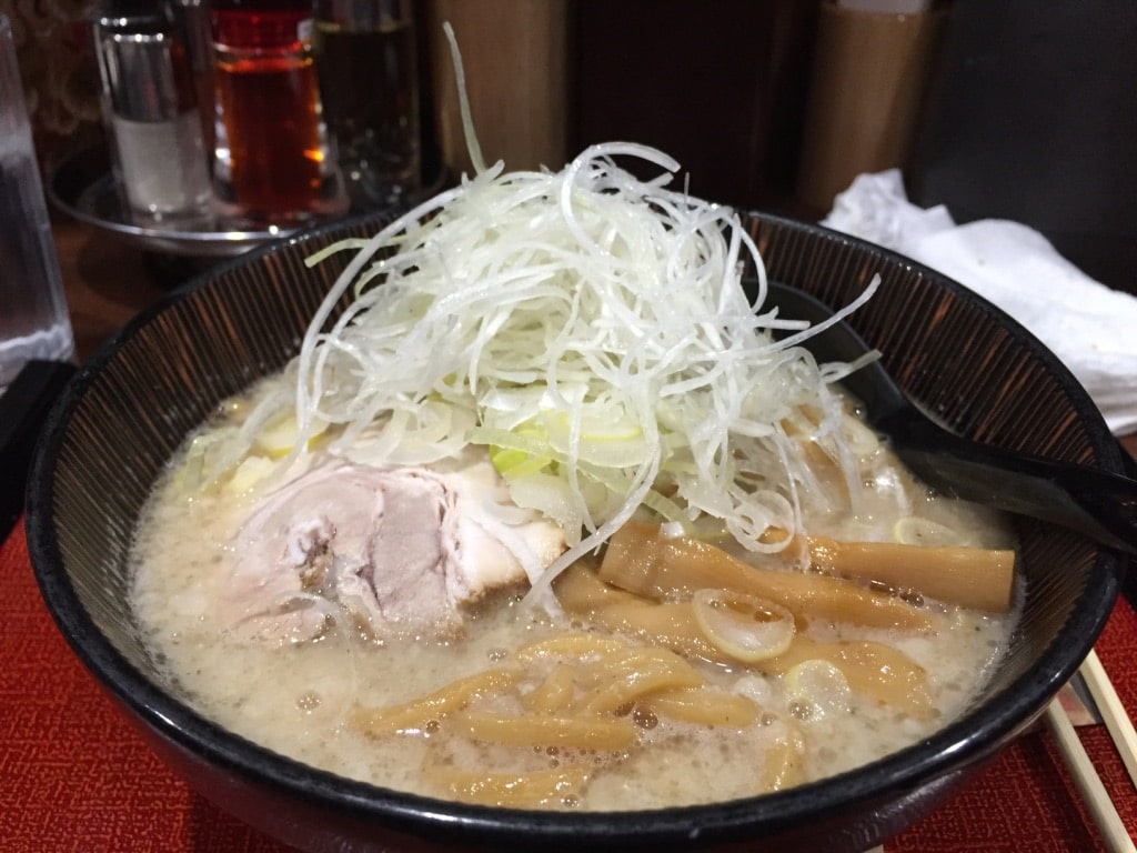 Ramen at Shinjuku Taketora