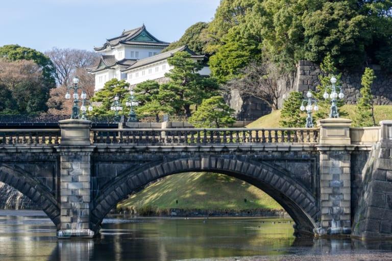 Stone bridge at Tokyo Imperial Palace