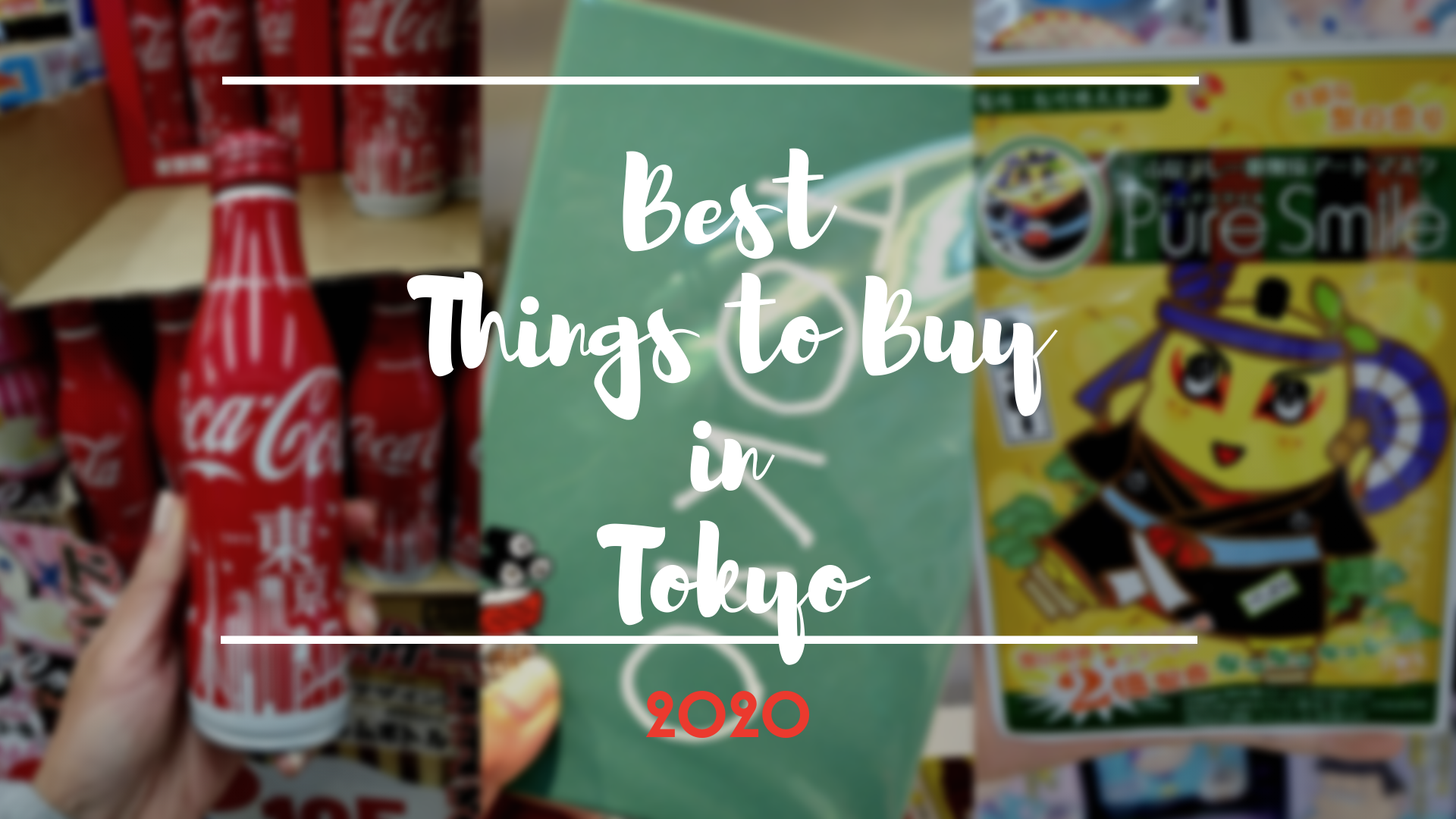 What to Buy in Tokyo 2020