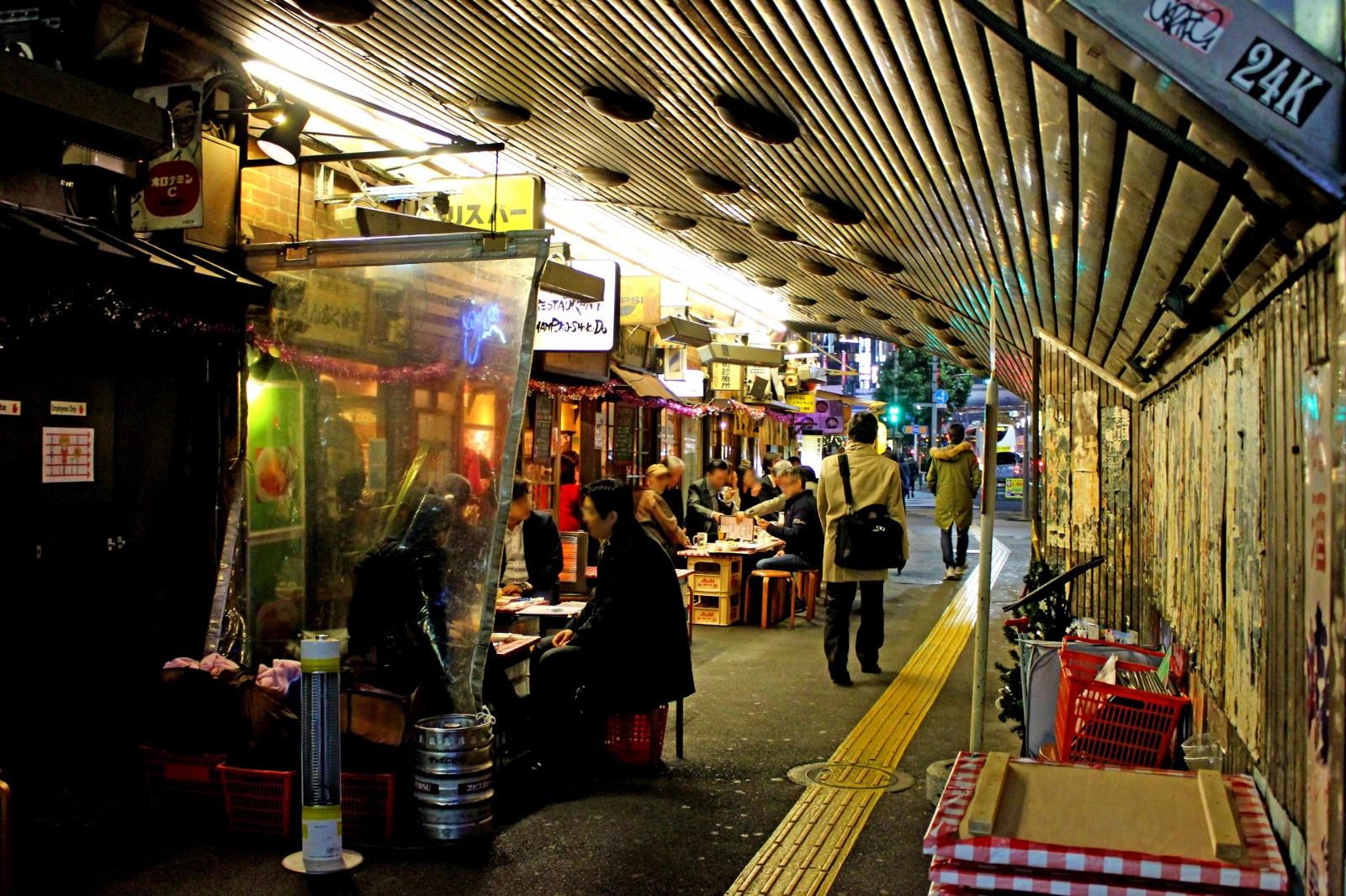 Izakaya Alley in Yurakucho