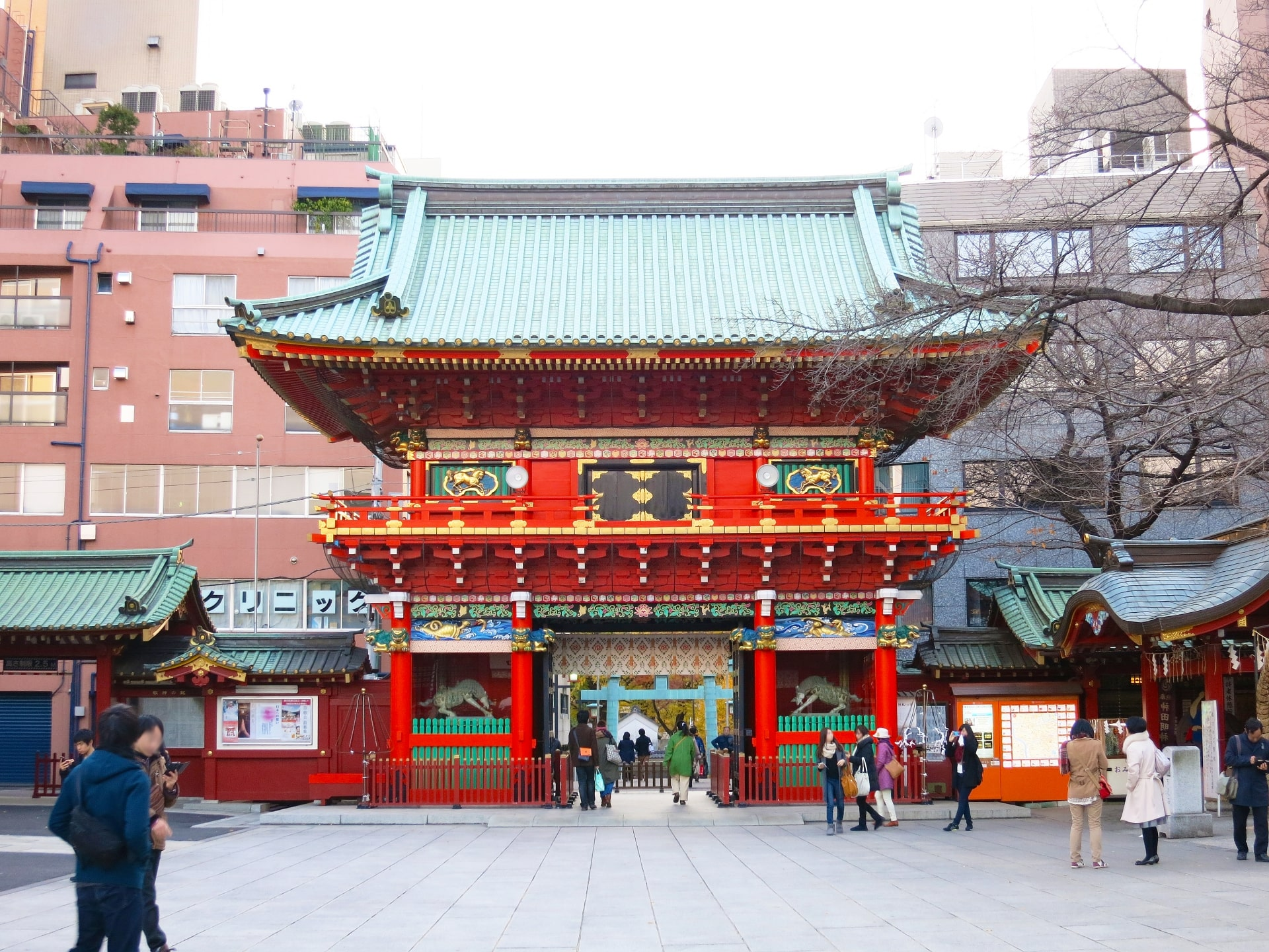 The gate of Kanda Myojin Shrine