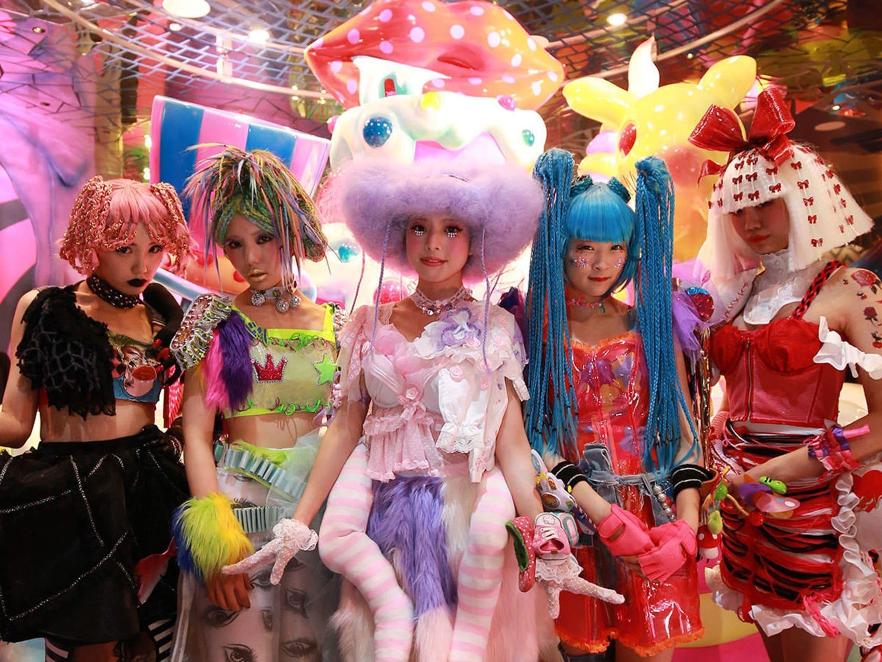 Kawaii fashion at Kawaii Monster Cafe in Harajuku