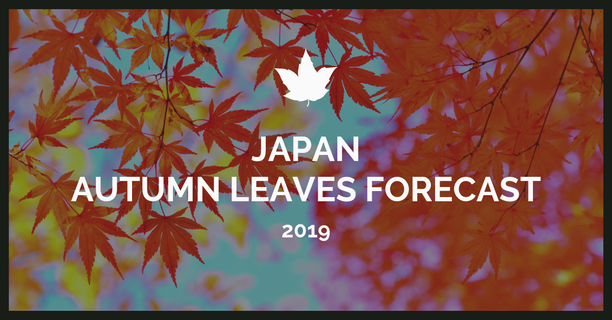 Japan Autumn Leaves Forecast 2019