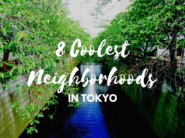 8 Best Neighborhoods in Tokyo