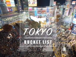 Tokyo Bucket List : 30 Top Things to Do