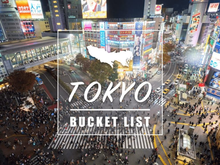 Things to Do in Tokyo: Tokyo Bucket List