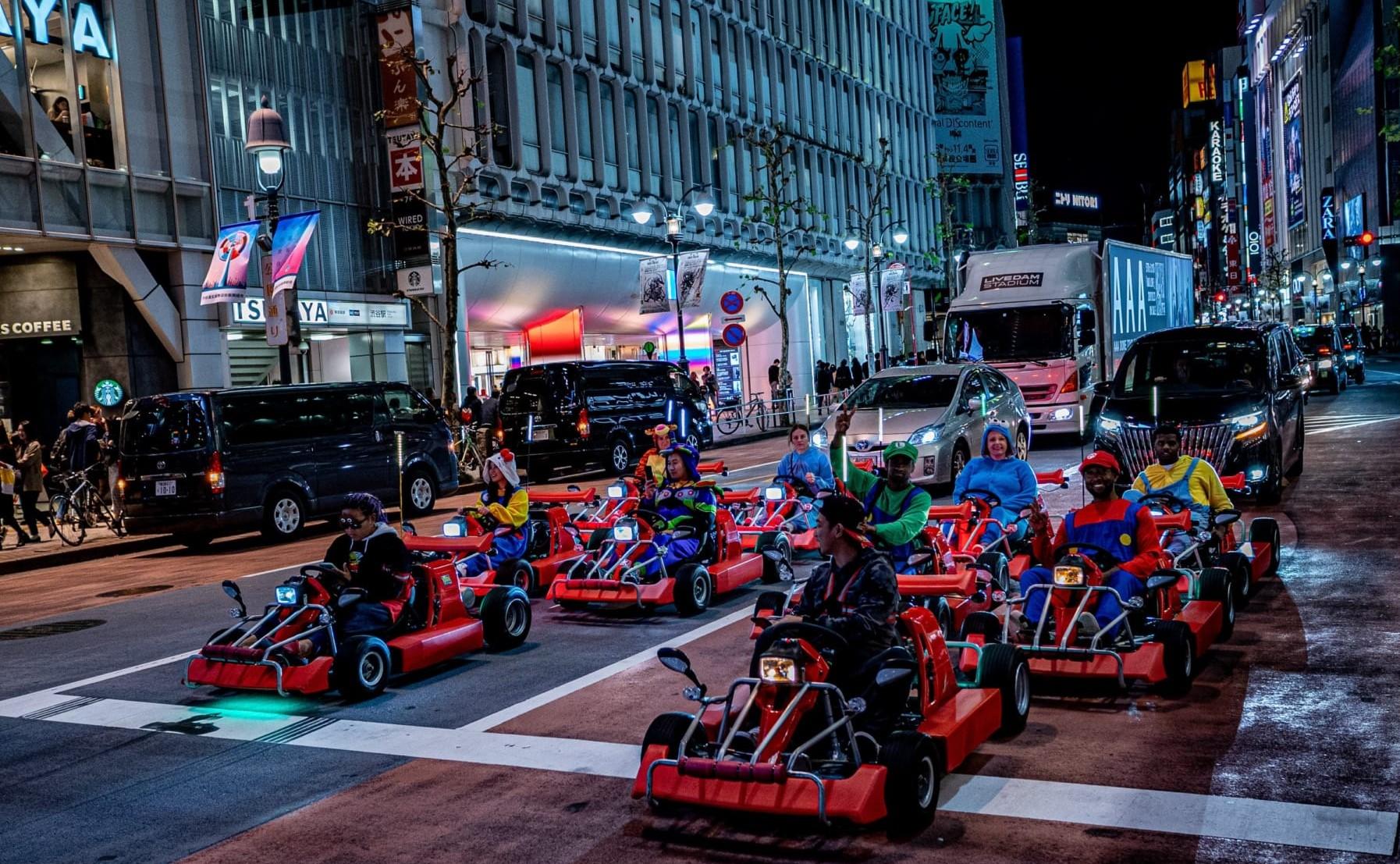 Go karting in Shibuya