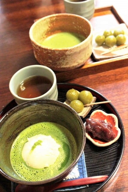 Delightful Matcha tea set