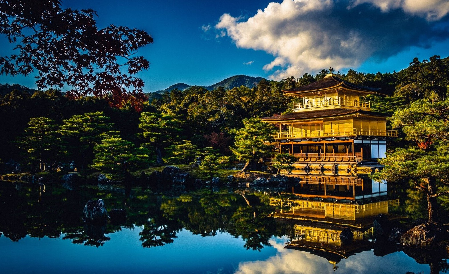 Kinkakuji Temple a.k.a. the Golden Pavilion