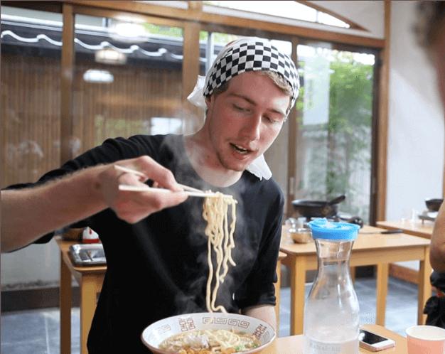 Ramen cooking class