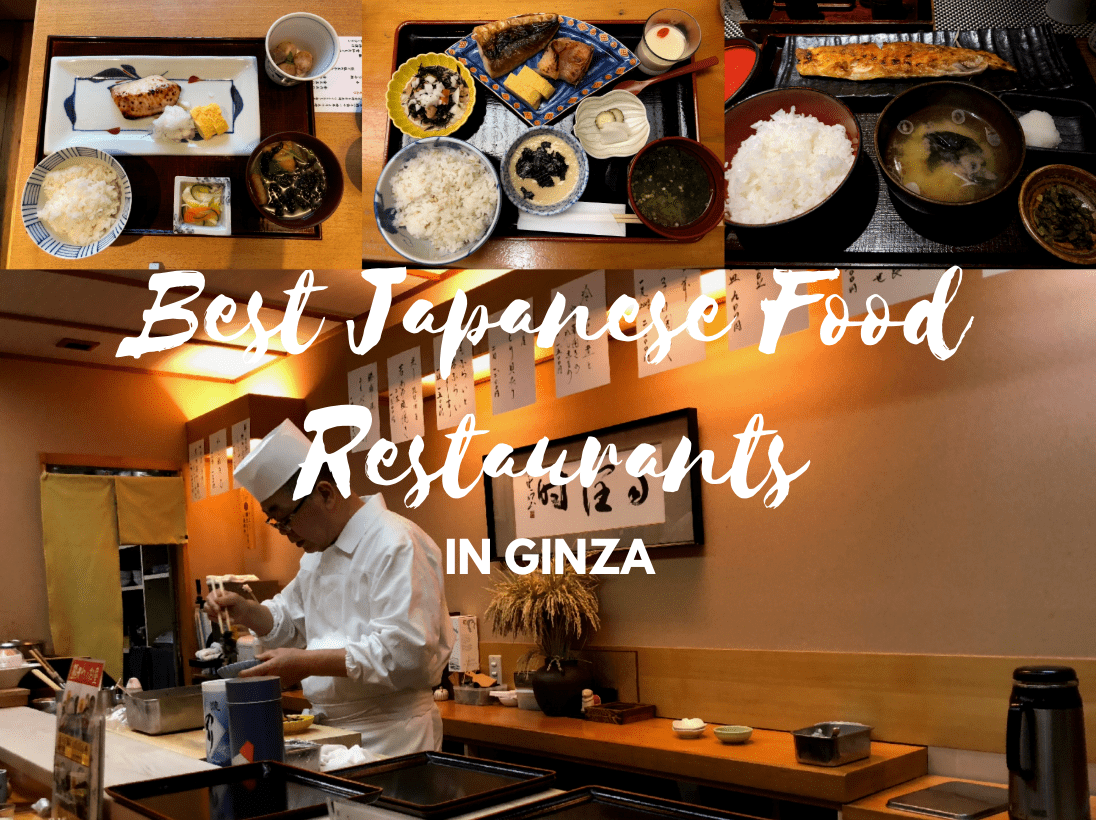 Japanese Food Restaurants in Ginza