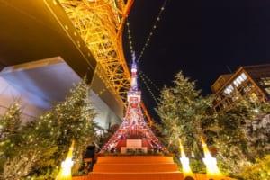 Tokyo Tower Illumination Winter