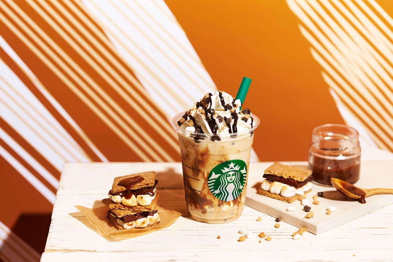 Caramel S'mores Frappuccino