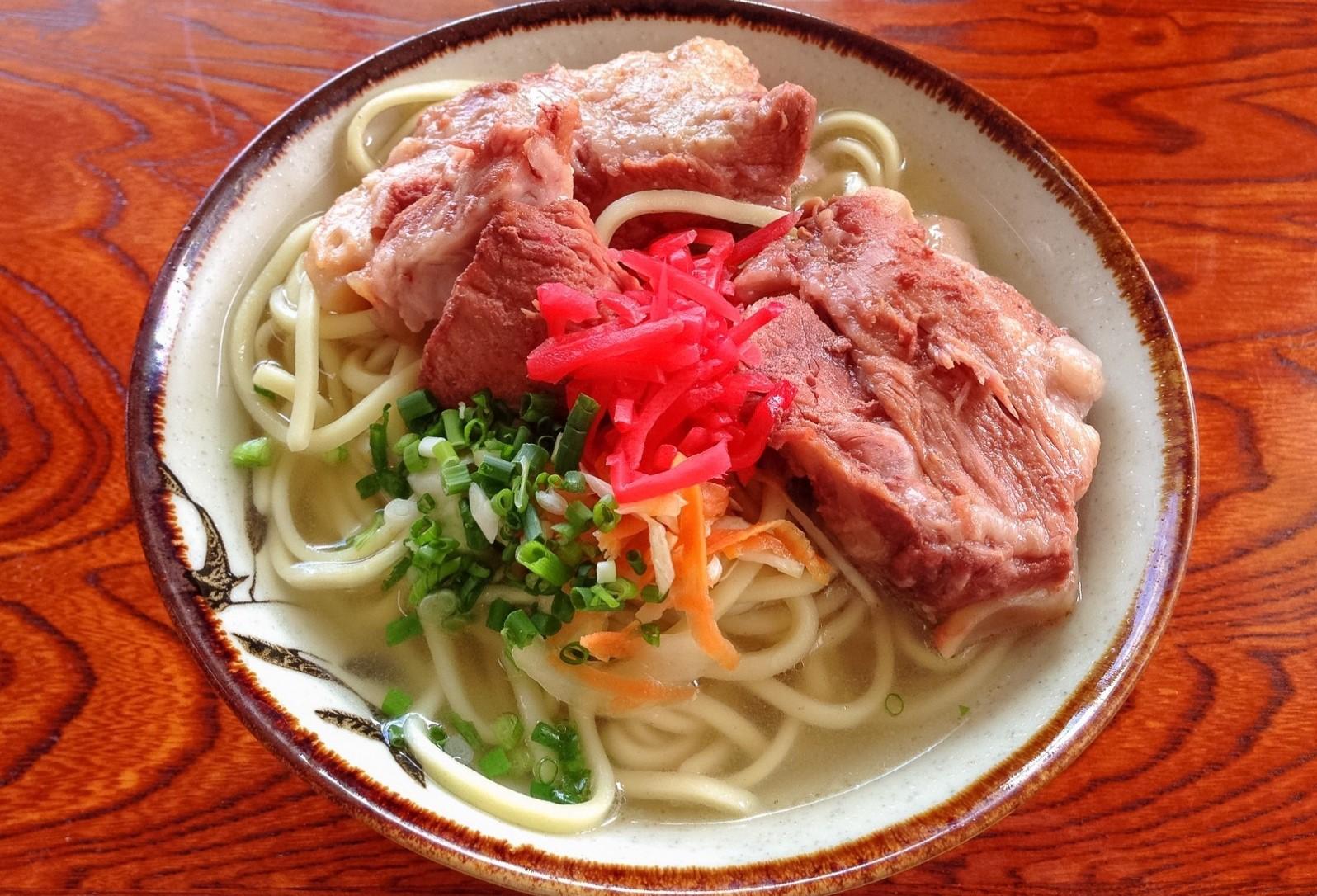 Soki Soba: Okinawa's local noodle dish