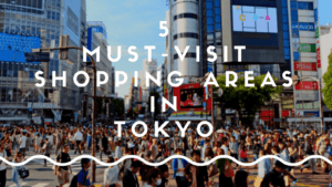 5 Must-Visit Shopping Areas in Tokyo