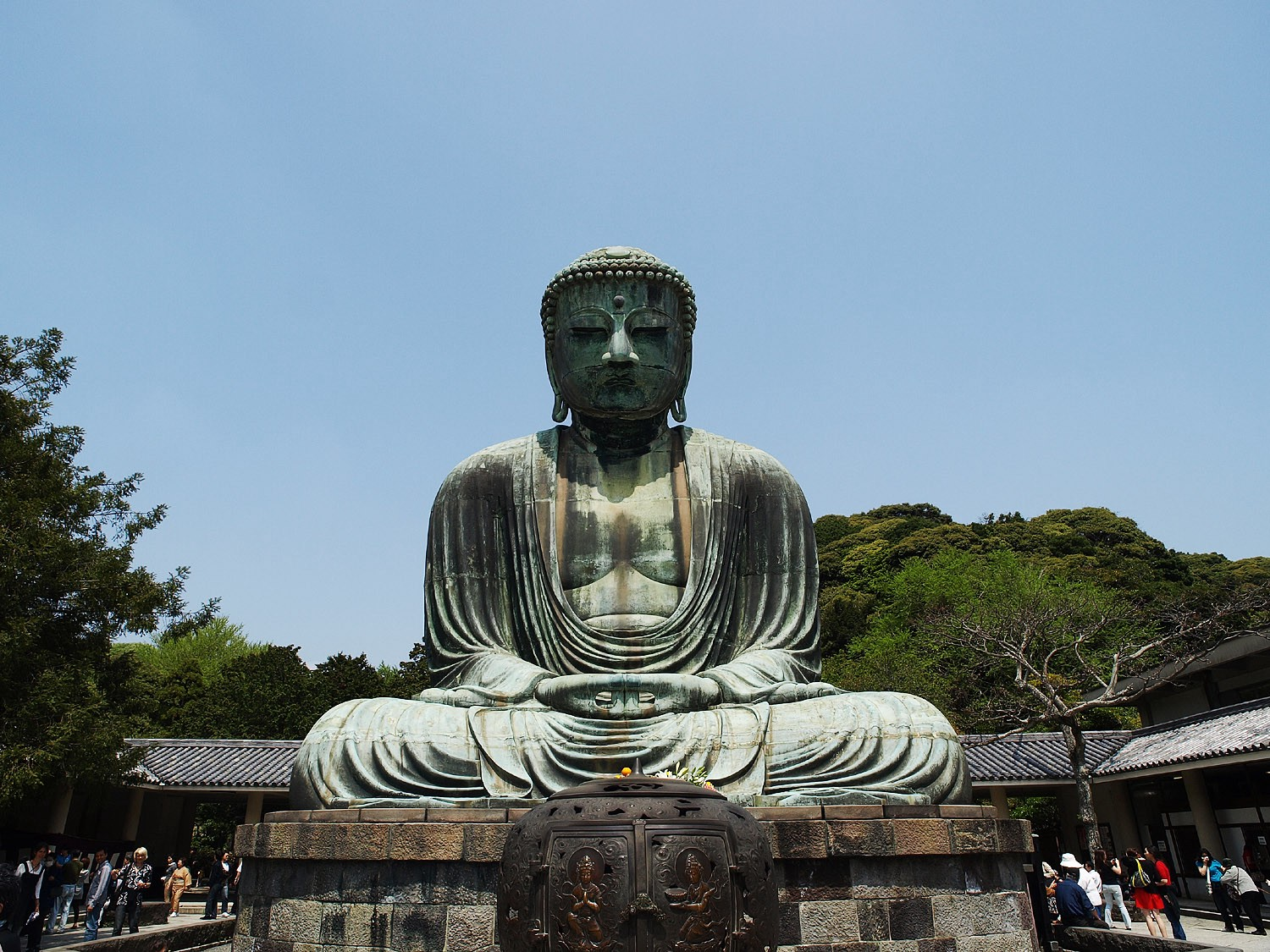 The Great Buddha at Kotokuin Temple in Kamakura