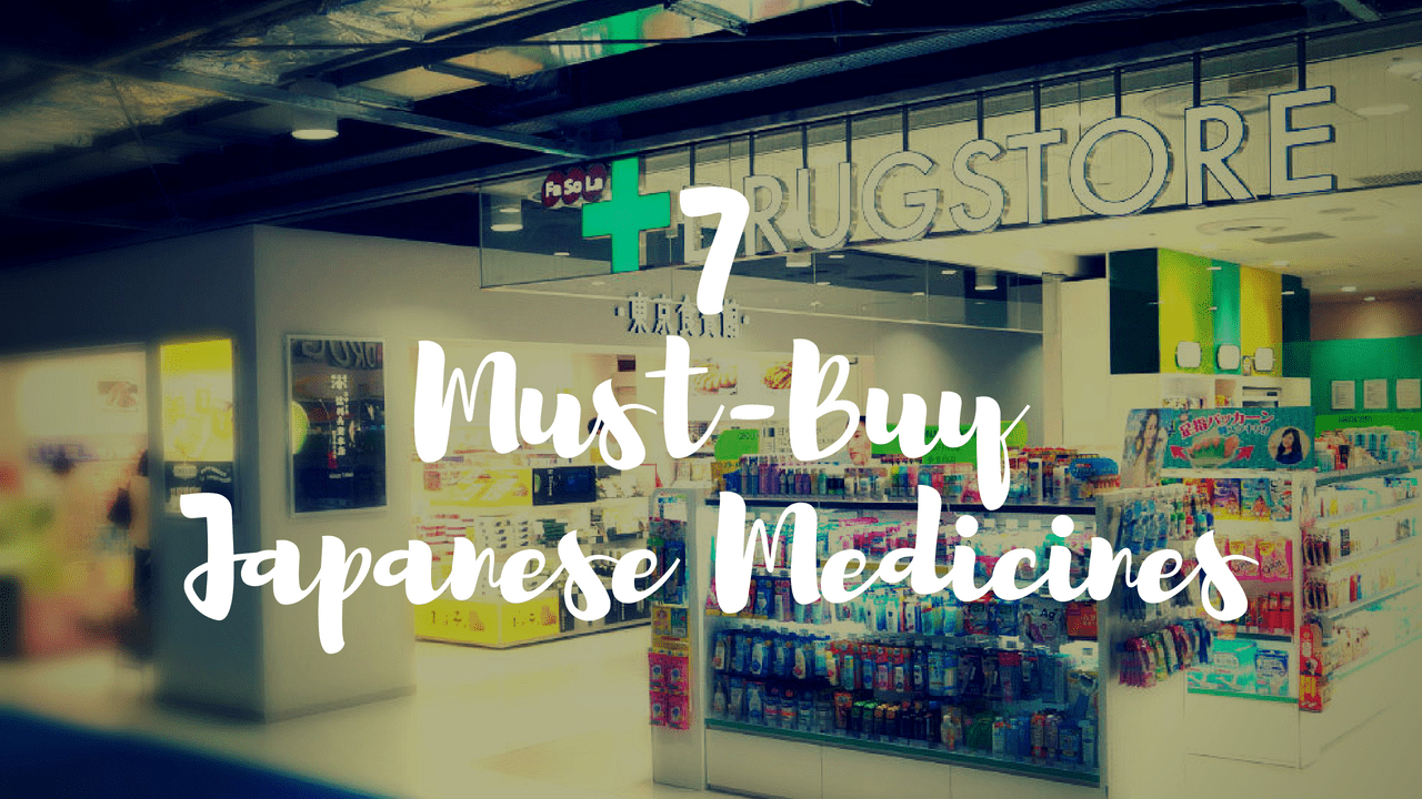 Must-Buy Japanese Medicines