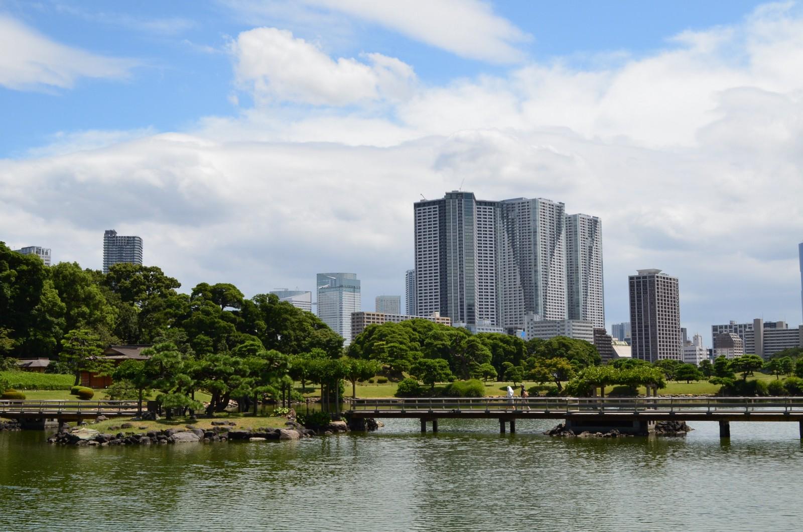 Hamarikyu Garden Scenic Japanese Garden Near Tsukiji Fish Market Japan Web Magazine