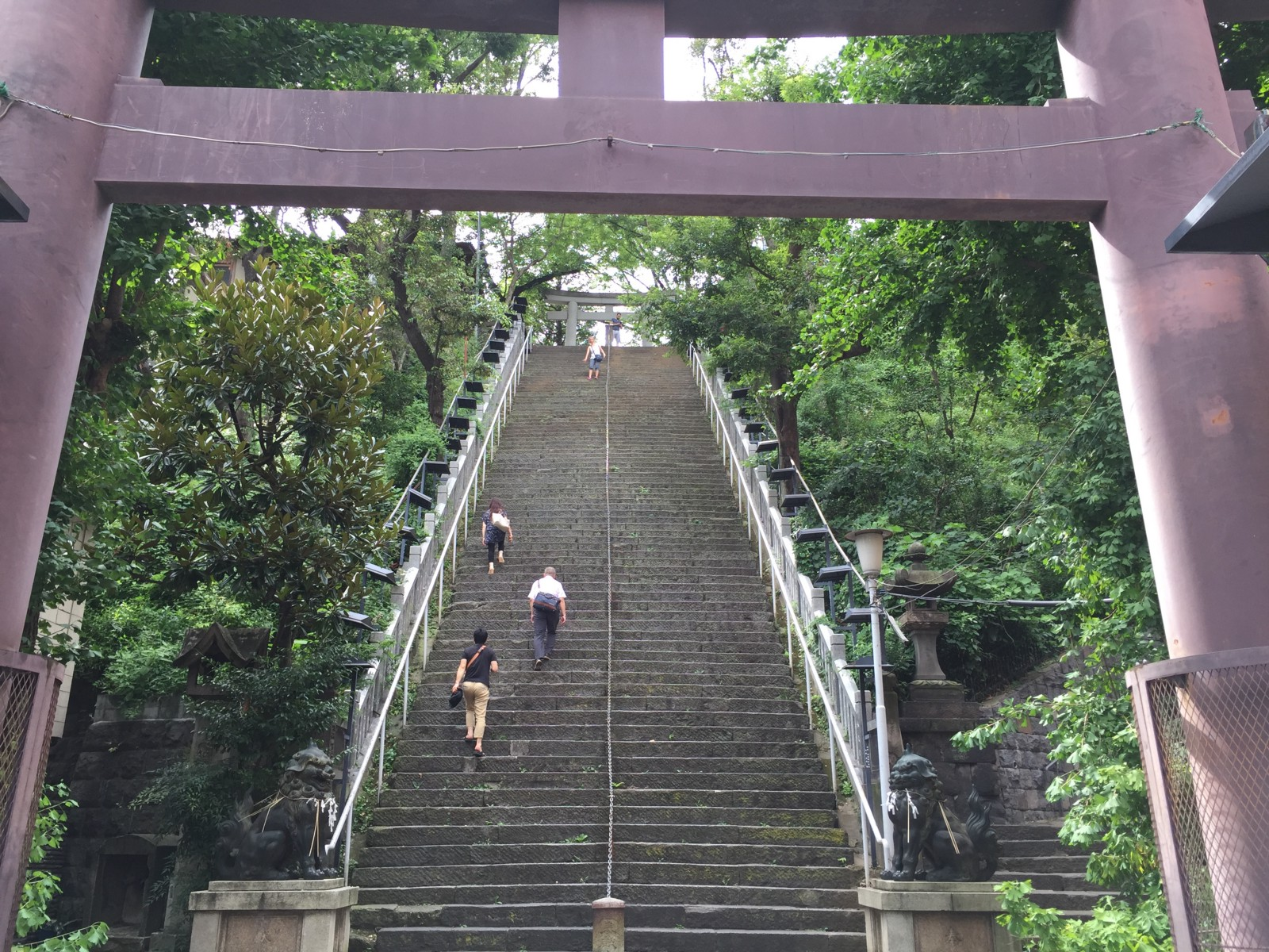 Atago Shrine: Climb the Long Stairs for Career Success in Tokyo