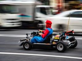 Rent a Go-Kart and Race through Tokyo!!