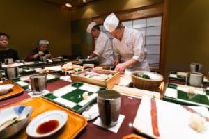Kyubey Sushi in Tokyo: Top Sushi Restaurant in Ginza, Tokyo