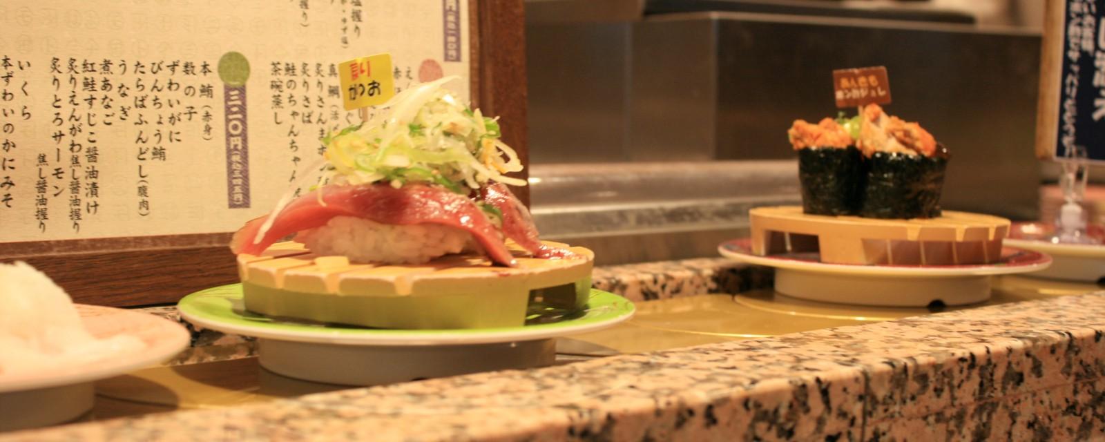 Nemuro Hanamaru: Conveyor Belt Sushi near Tokyo Station