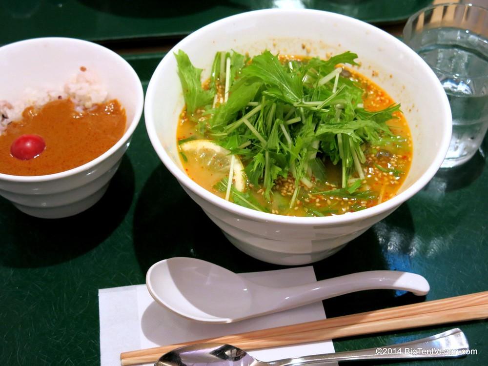 T's TanTan: Vegetarian Restaurant in Tokyo Station