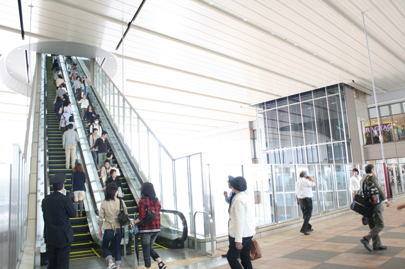 Escalator in Osaka (Kansai area)