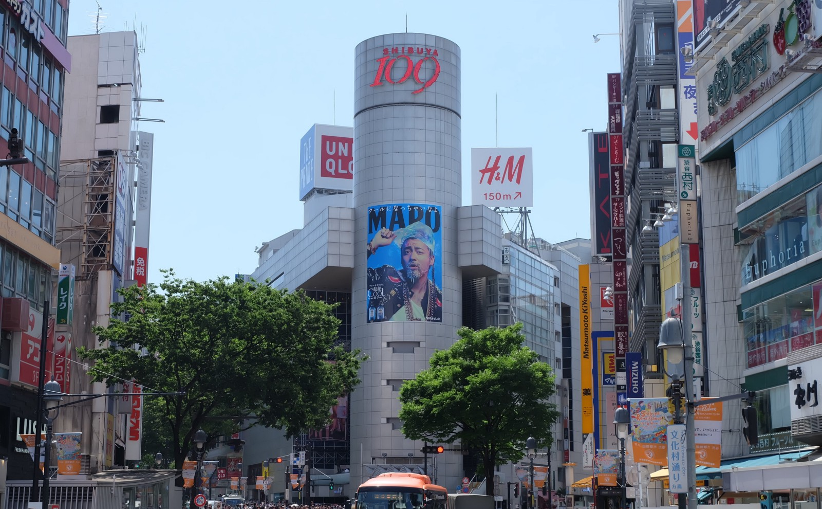 The iconic fashion building, Shibuya 109