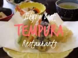 5 Best Michelin Star Tempura in Tokyo!