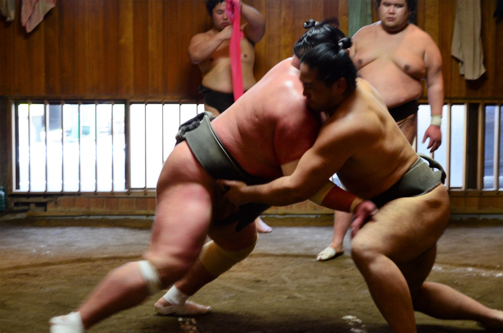 My Sumo Morning Practice Experience In Tokyo Japan Web Magazine