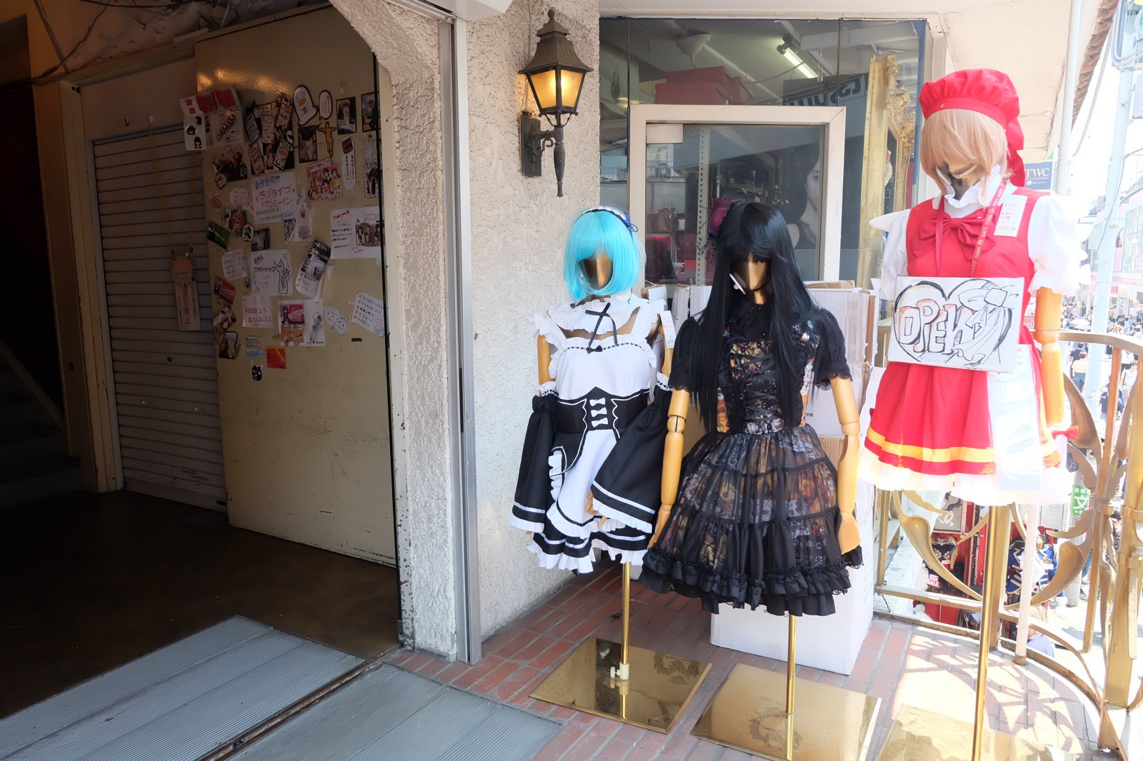 A boutique selling unique costumes
