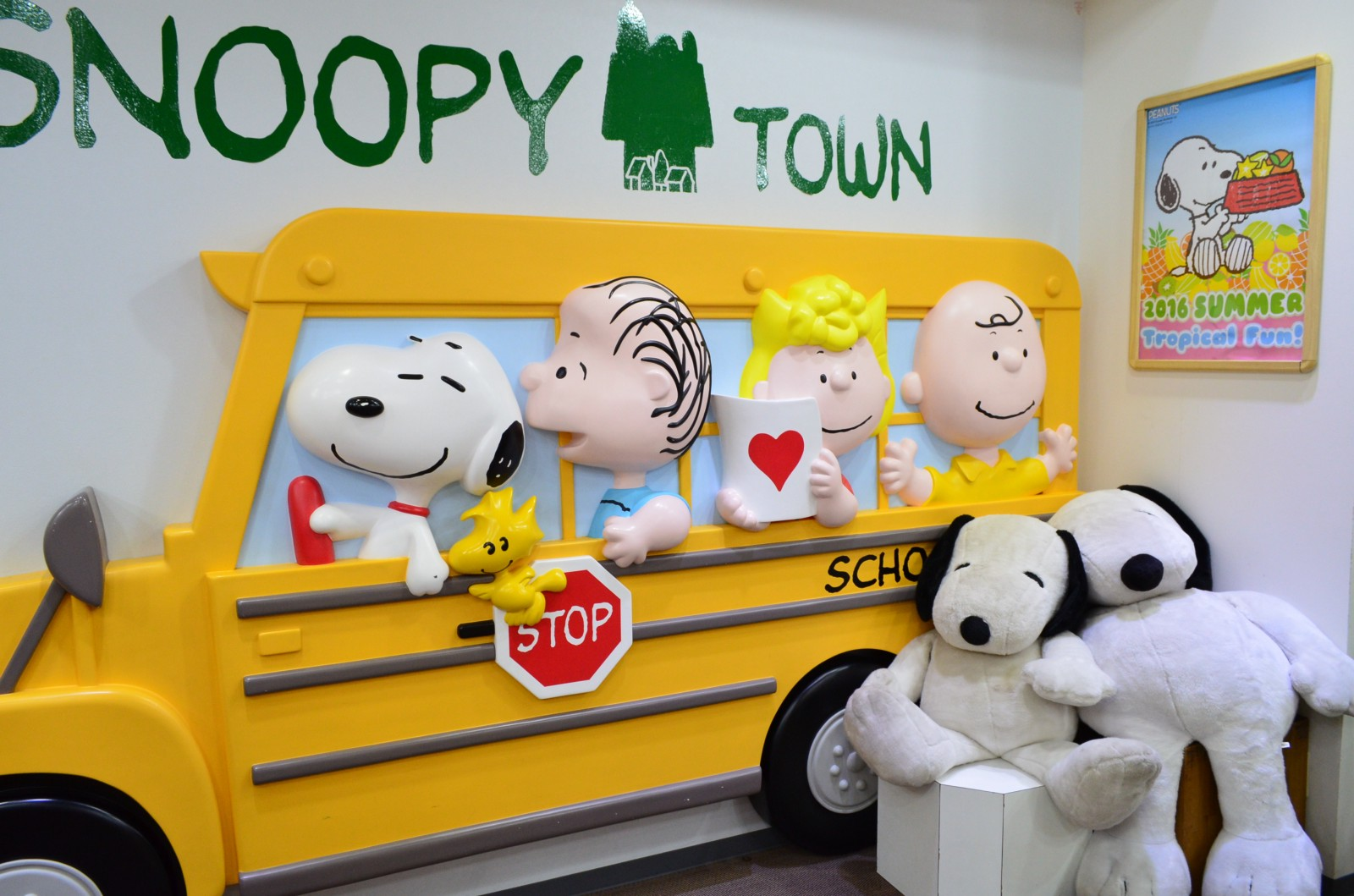 Snoopy section at KIDDY LAND in Harajuku