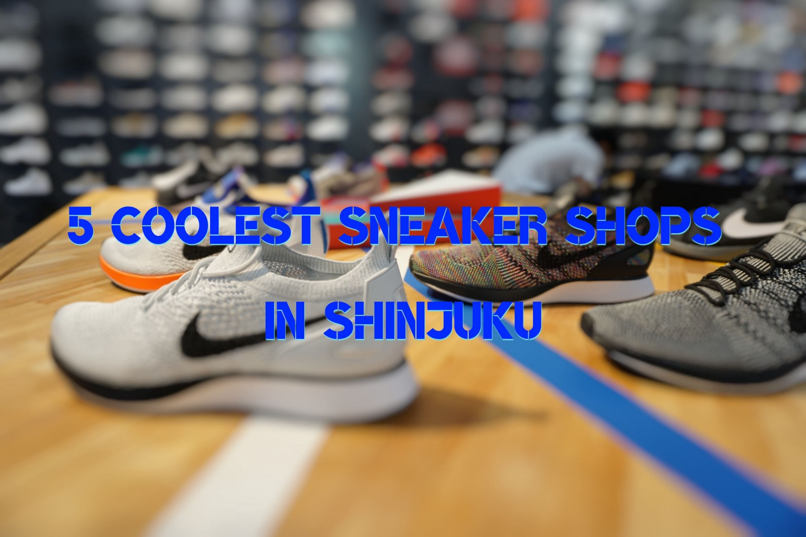 85c6d9186c6 5 Coolest Sneaker Shops in Shinjuku - Japan Web Magazine