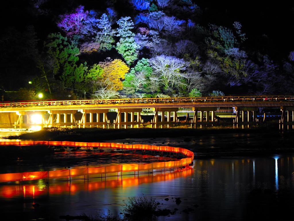 Kyoto Arashiyama Hanatouro Illumination 2019