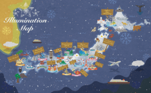 Best Winter Illuminations in Japan : Japan Illumination Map