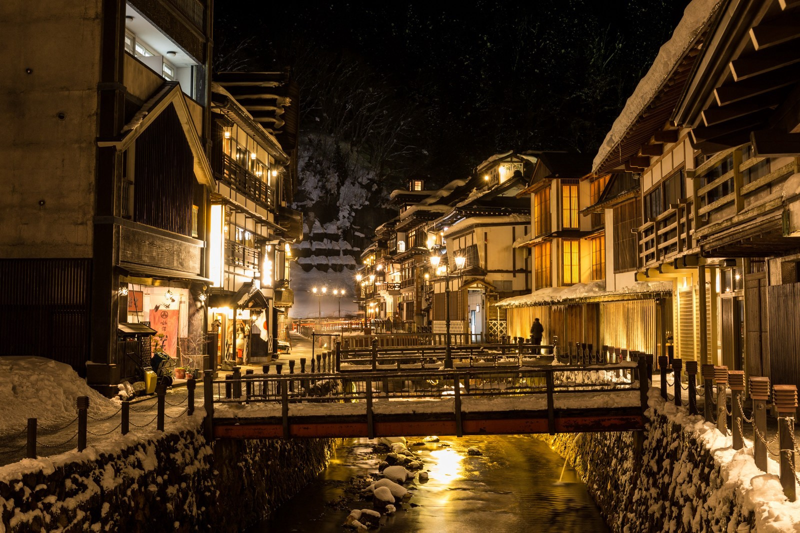 Ginzan Onsen: one of the most scenic Onsen towns in Japan