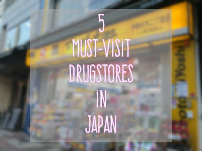 5 Best Japanese Drugstores