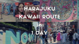 1 Day Itinerary in Tokyo: HARAJUKU Trendy Things to Do