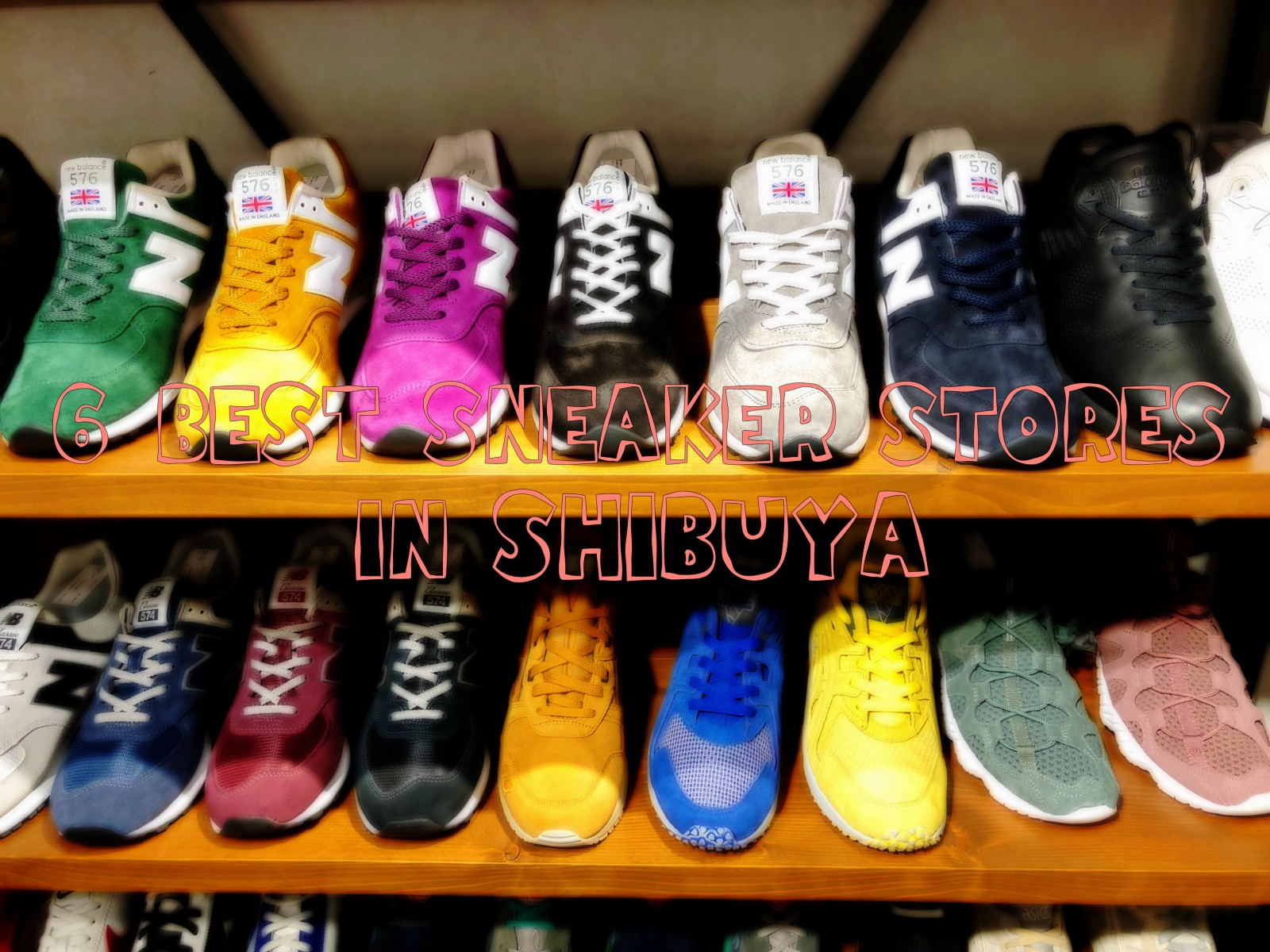 Descifrar convertible colisión  6 Best Sneaker Stores in Shibuya - Japan Web Magazine