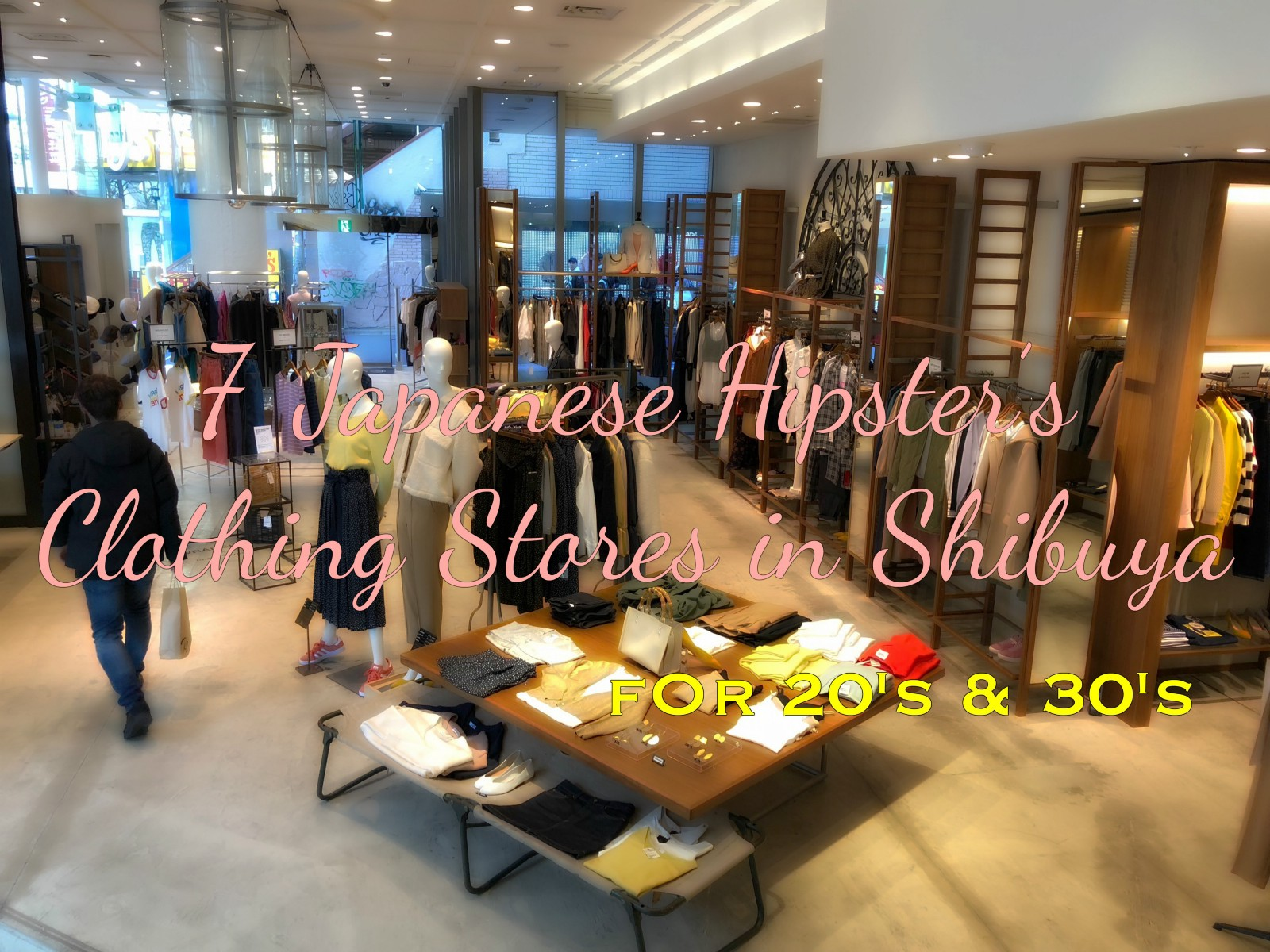 7 Japanese Hipster's Clothing Stores in Shibuya - Japan Web