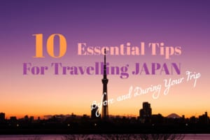 Japan Travel Tips: 10 Essentials for Travellers to Japan!