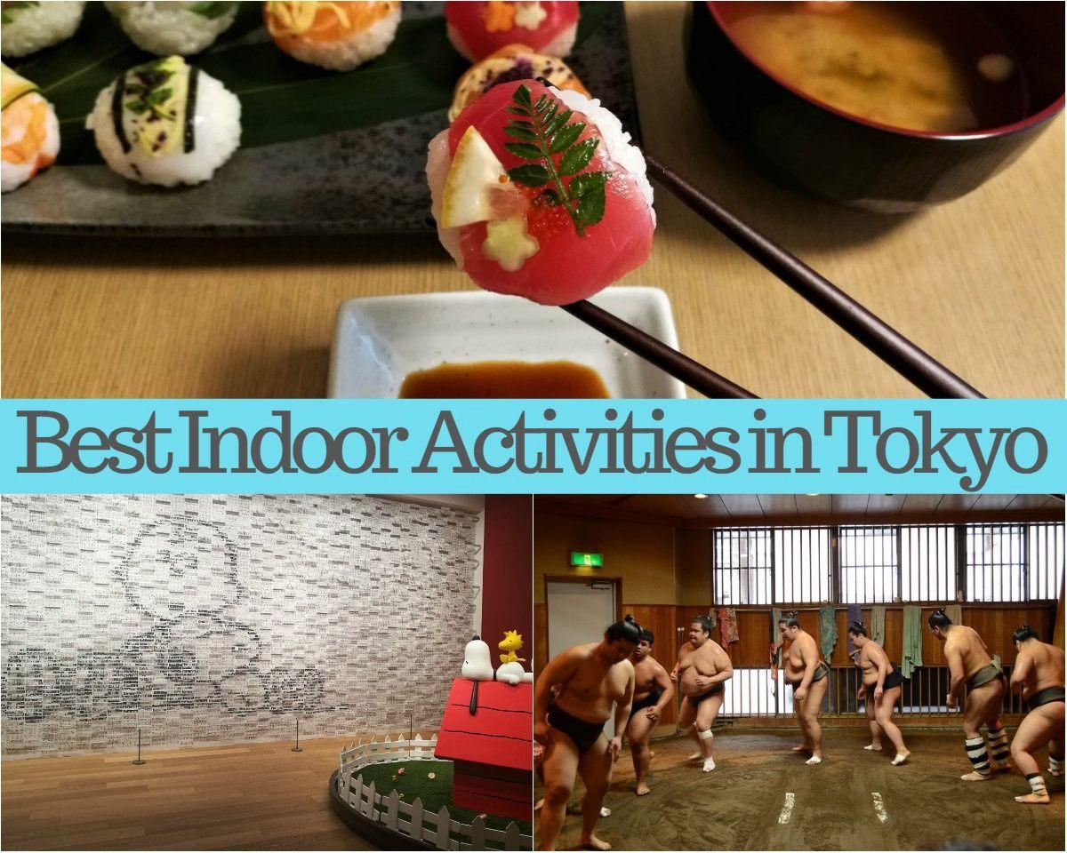 10 Hottest Indoor Activities in Tokyo 2020